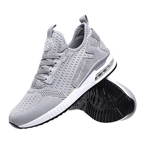 Basse Ginnastica Uomo Fitness Scarpe Donna Corsa Casual Interior All'aperto Sportive Da Running M3 Sneakers Grigio Aonetiger 4F1Pqq
