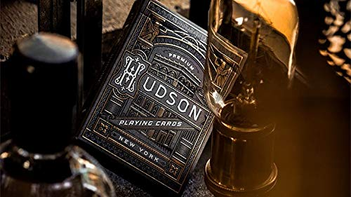 Murphy's Magic Supplies, Inc. Black Hudson Playing Cards by theory11