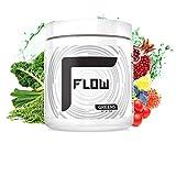 Flow Supplements by Zachary Levi | Green Balance Alkalyzing Betta Berries Greens Blend | 30 Servings (Lemon Grass)