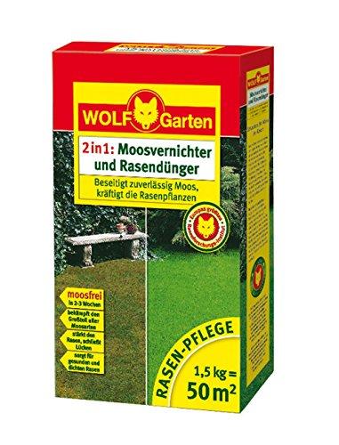 WOLF-Garten Moosvernichter und Rasendünger LW 50; 3844010