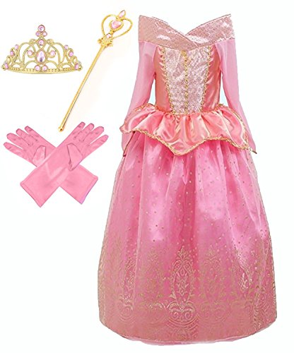 Beauty Sleeping 3 Fairies Costumes From (Aurora Princess Costume (2-3, Style)