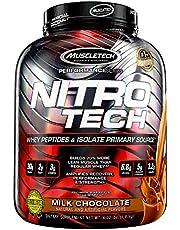 Muscletech NitroTech Performance Series Milk Chocolate Protein Supplement, Milk Chocolate, 1.81 kilograms