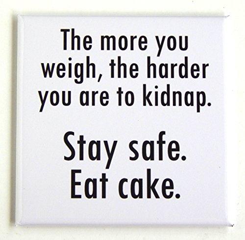 Cake Fridge Magnet -