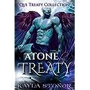 Atone By Treaty (Alien Shapeshifter Romance) (Qui Treaty Collection Book 8)