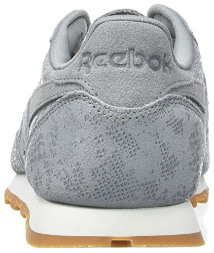 Classic Grey Gum Flint Mujer Zapatillas Clean Exotics Varios Reebok Leather Chalk para Colores Oaqvddg