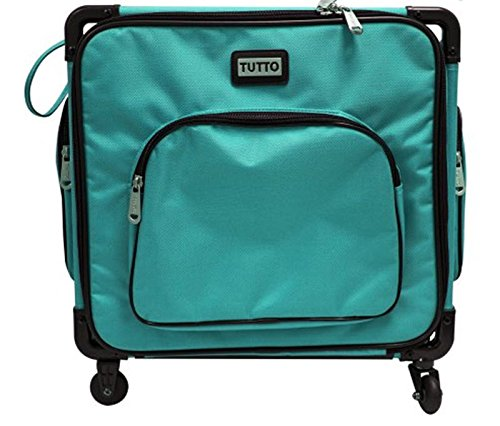 Tutto 17'' Turquoise Serger on Wheels by Tutto