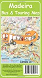 Front cover for the book Madeira Bus & Touring Map by David Brawn