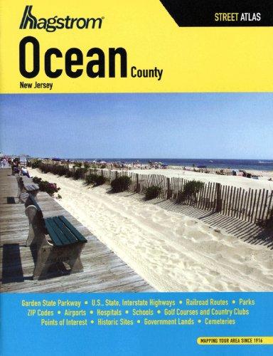Ocean County NJ Atlas (Hagstrom Ocean County Atlas) (HAGSTROM OCEAN COUNTY ATLAS LARGE SCALE - Map Nj County Ocean