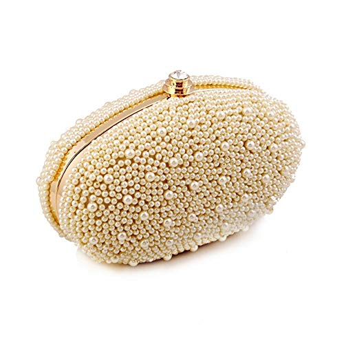 Bag Bags Evening Handbag amp; Clubs for Jxth Beading Women Purse Occasion Clutches Handbags White Wedding Color Evening Beige Party Special Purse Clutch Clutch Evening 8qPCf