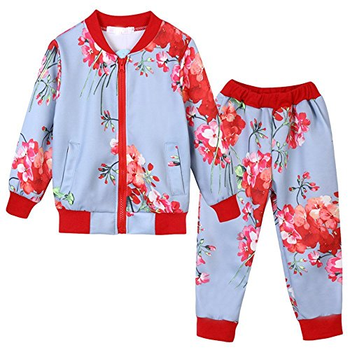 Children Clothing 2018 2pcs Set Outfit Kids Clothes Tracksuit Suit for Girls]()