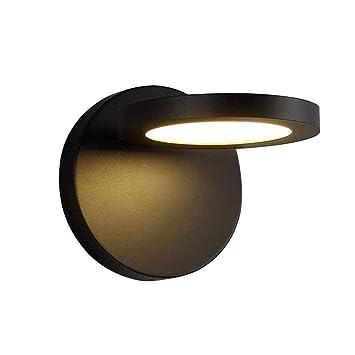 Hongou Led Wandleuchte Innen Schwarz Modern Einfach Wandlampe