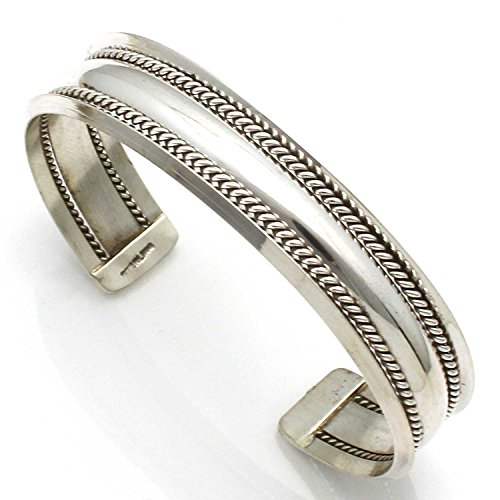Sterling silver bracelet by Alene Tahe by L7 Enterprises