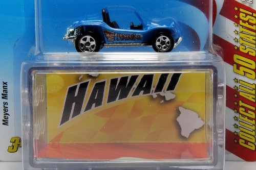 Mattel Hot Wheels Connect Cars Hawaii Meyers Manx 1:64 Scale