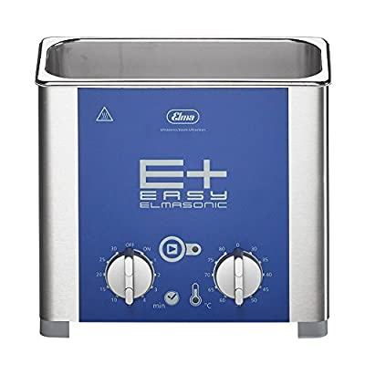 Elmasonic Tabletop Ultrasonic Cleaner for Jewelry, Lab/Dental Cleaning with Deep Clean Pulse Mode