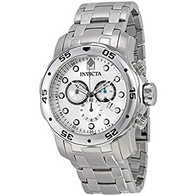 Invicta Men's 0071 Pro Diver Collection Chronograph Stainless Steel Watch by Invicta