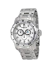 Invicta 0071 Watch Men's Pro Diver Collection Chronograph Stainless Steel