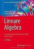 Lineare Algebra : Ein Lehrbuch über Die Theorie Mit Blick Auf Die Praxis, Liesen, Jörg and Mehrmann, Volker, 3658066091