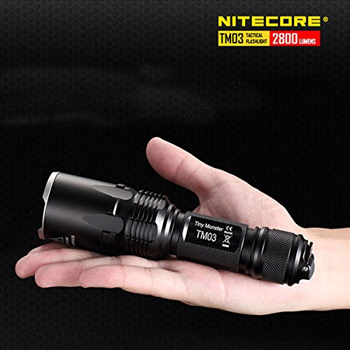 Nitecore TM03 XHP70 2800LM Tactical LED Flashlight With 18650 Battery by KAMOLTECH (Image #6)