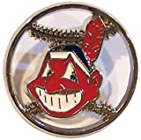Cleveland Indians Cut Out Logo Pin