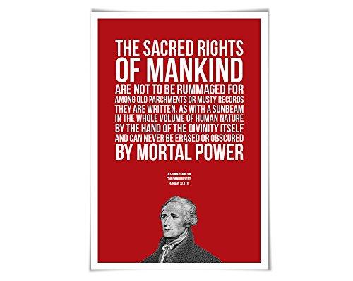 hamilton quote poster