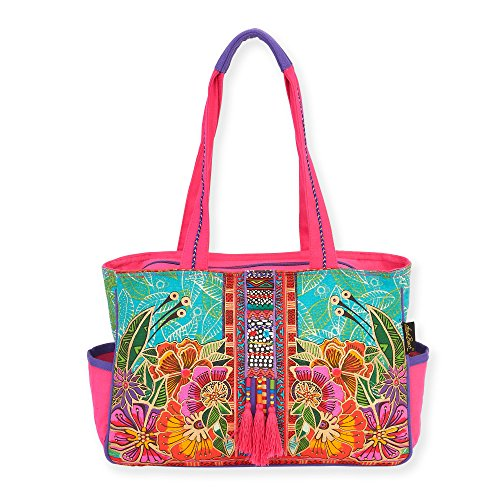 - Laurel Burch Flora Medium Tote Handbag 5822