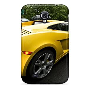 Pretty SGR5453pywt Galaxy S4 Case Cover/ Yellow Gallarado Series High Quality Case