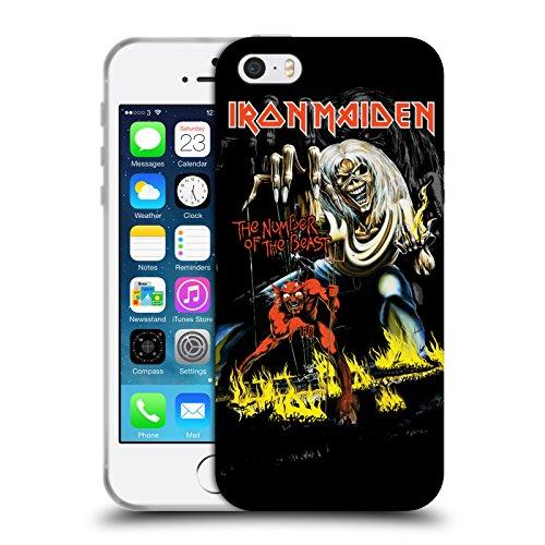Officiel Iron Maiden NOTB Couvertures D'album Étui Coque en Gel molle pour Apple iPhone 5 / 5s / SE