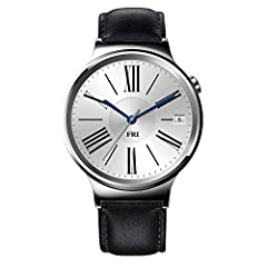 Inspired by the classic designs of luxury watches, with cutting-edge technology, the Huawei Watch redefines what we've come to expect from a smartwatch. Developed as a statement piece rather than a smartphone for your wrist, it combines elega...