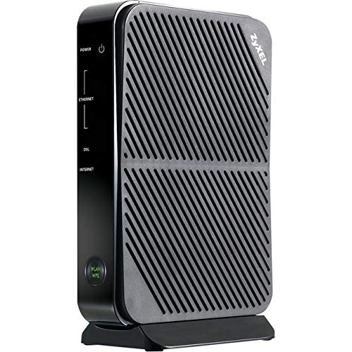 ZyXEL P660HN-51R Adsl/ Adsl2+ Wi-Fi Router with Built-in Modem Compatible with CenturyLink, Frontier, AT&T and Other Broadband Providers [P660HN-51]