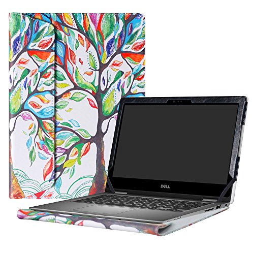 Alapmk Protective Case Cover For 13.3 Dell Inspiron 13 2-in-1 5378 5368 5379 i5378 i5368 i5379 Laptop(Warning:Only fit model 5378 5368 5379),Love Tree