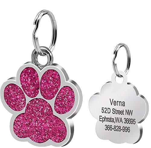 Berry - Etiquetas de identificación para perros y gatos de tamaño ...
