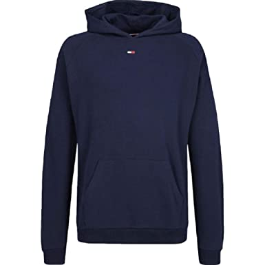 f04f484893b02d Tommy Hilfiger Flag Pullover Hoodie - Navy: Amazon.co.uk: Clothing