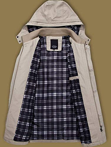 Abrigo Schwarz Militar Chaqueta para Ropa Chaqueta Hood De De Otoño vH7qwEE