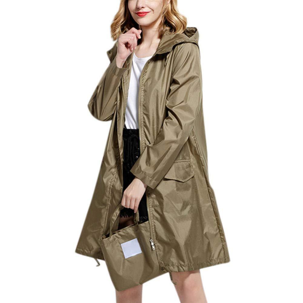 WHDS Impermeabile Cappotti Antipioggia in plastica da Donna