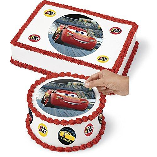 Wilton 710-7111 Disney Pixar Cars 3 Sugar Sheets, Assorted for $<!--$8.39-->
