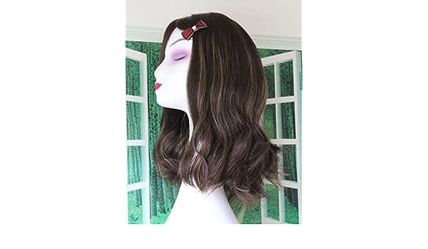 Peluca judía 100% Ji Lin Cabello Corte chino Peluca de cabello ...