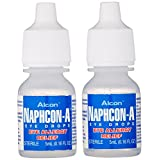 Naphcon a eye allergy relief drops by alcon, pocket size - 5 ml, 2 / pack