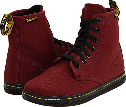 dbc03ab78aa95 Dr. Martens Women's Shoreditch Boot,Cherry Red Rouge,3 UK (US ...