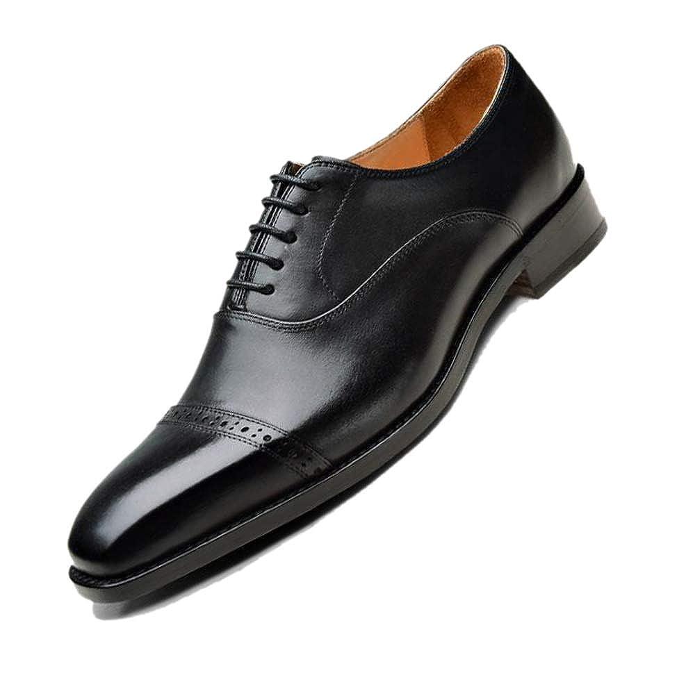 negro Derby Hecho A Mano zapatos De Negocios para hombres Puntiagudo marrón negro Temporadas Caballeros zapatos De Uniforme