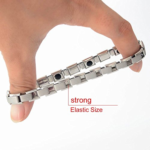 LifeAngel Tourmaline Germanium Bracelets Stainless