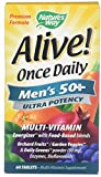 Alive! Once Daily Men's 50+ Ultra – 60 Tablets by Nature's Way Review