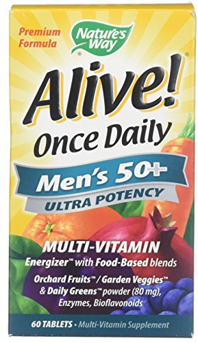 60 Way Natures Tabs - Alive! Once Daily Men's 50+ Ultra - 60 Tablets by Nature's Way