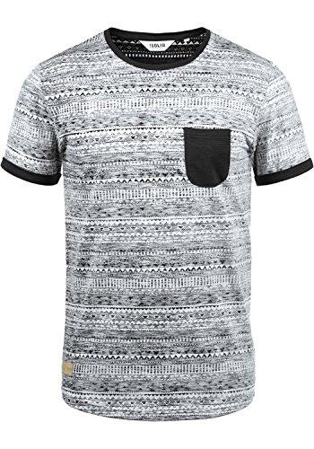 Hombre Para Black solid Ingo 9000 Camiseta aCwHTC4xq