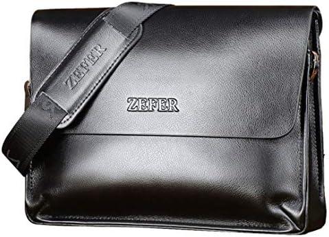 革のブリーフケースハンドバッグビジネスレジャーショルダーバッグ男性メッセンジャーバッグ