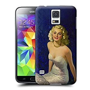 Unique Phone Case Fashion girl#4 Hard Cover for samsung galaxy s5 cases-buythecase