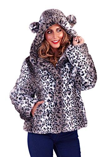 Pistachio - Chaqueta - para mujer Leopardo Gris