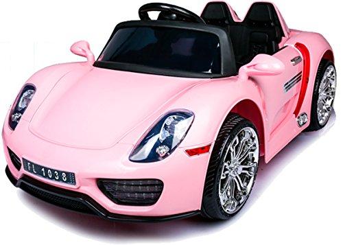Babycoches Coche Electrico Para Ninos 918 Spyder Con Mando A Distancia Para Control Parental 12v Color Rosa