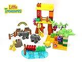 Best Little Treasures 3 Year Old Boy Gifts - Little Treasures 63 pcs interlocking building blocks Review