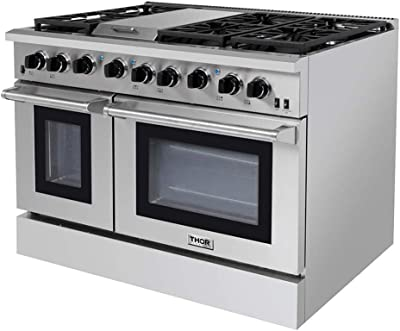 Thor Kitchen HRG3031U Professional Style Stainless Steel Gas Range, 30