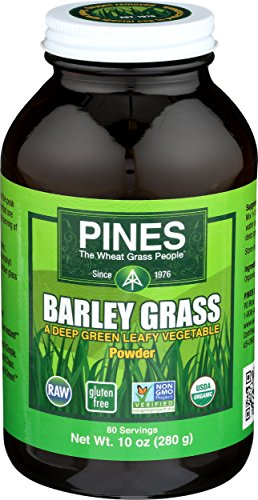 (PINES Organic Barley Grass Powder, 10 Ounce)